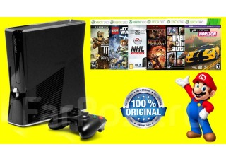 Xbox 360 250 GB + Кинект + 2 джойстика